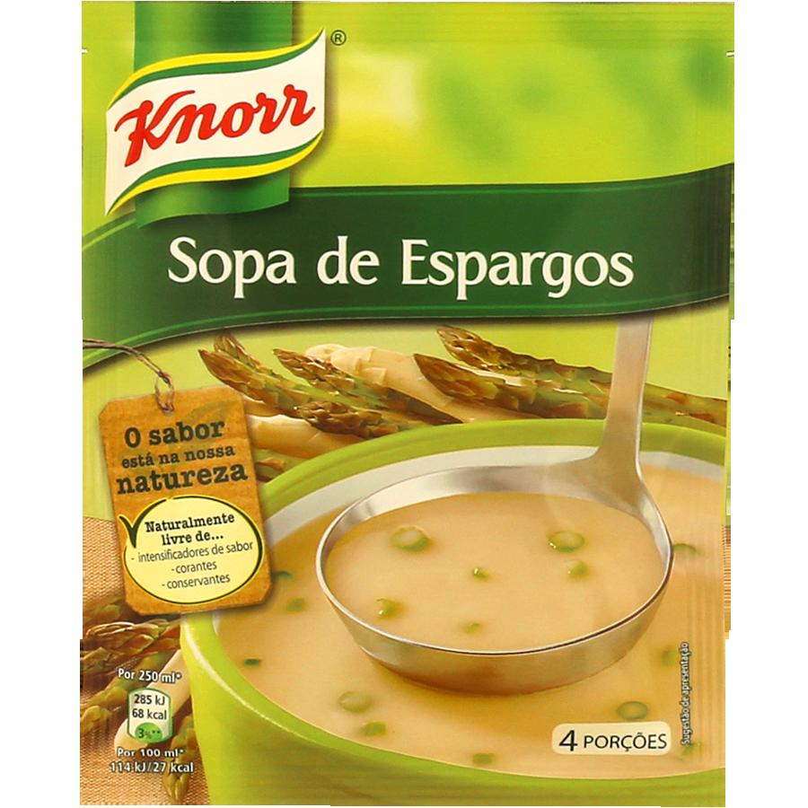 SOPA KNORR ESPARGOS 70GR