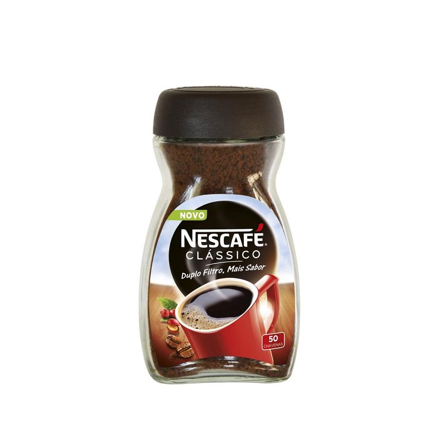 CAFÉ SOLÚVEL CLÁSSICO NESCAFÉ 100GR