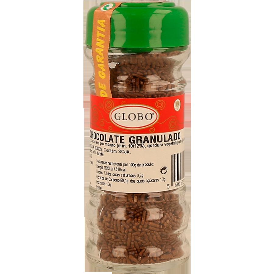 ENFEITO GLOBO CHOCOLATE GRANUL 50GR