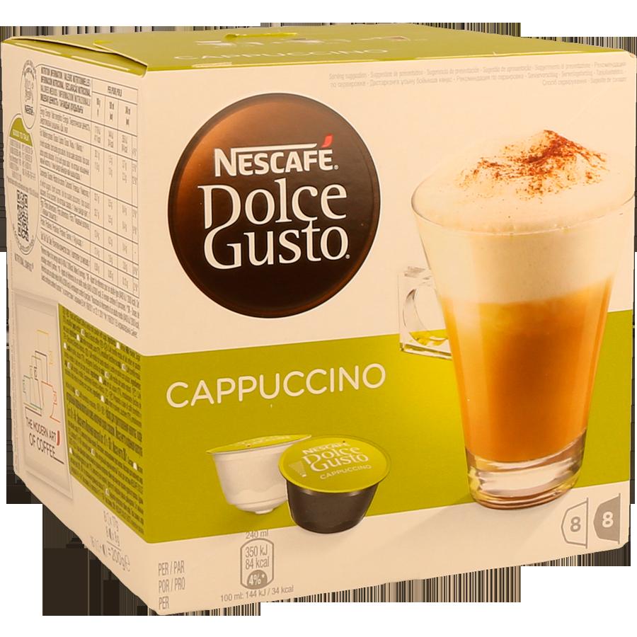 Cáps Dolce Gusto Cappuccino 16Un