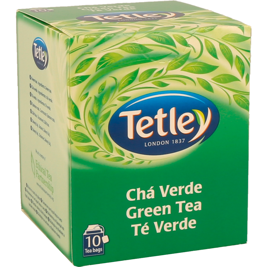 Chá Verde Tetley 10Un