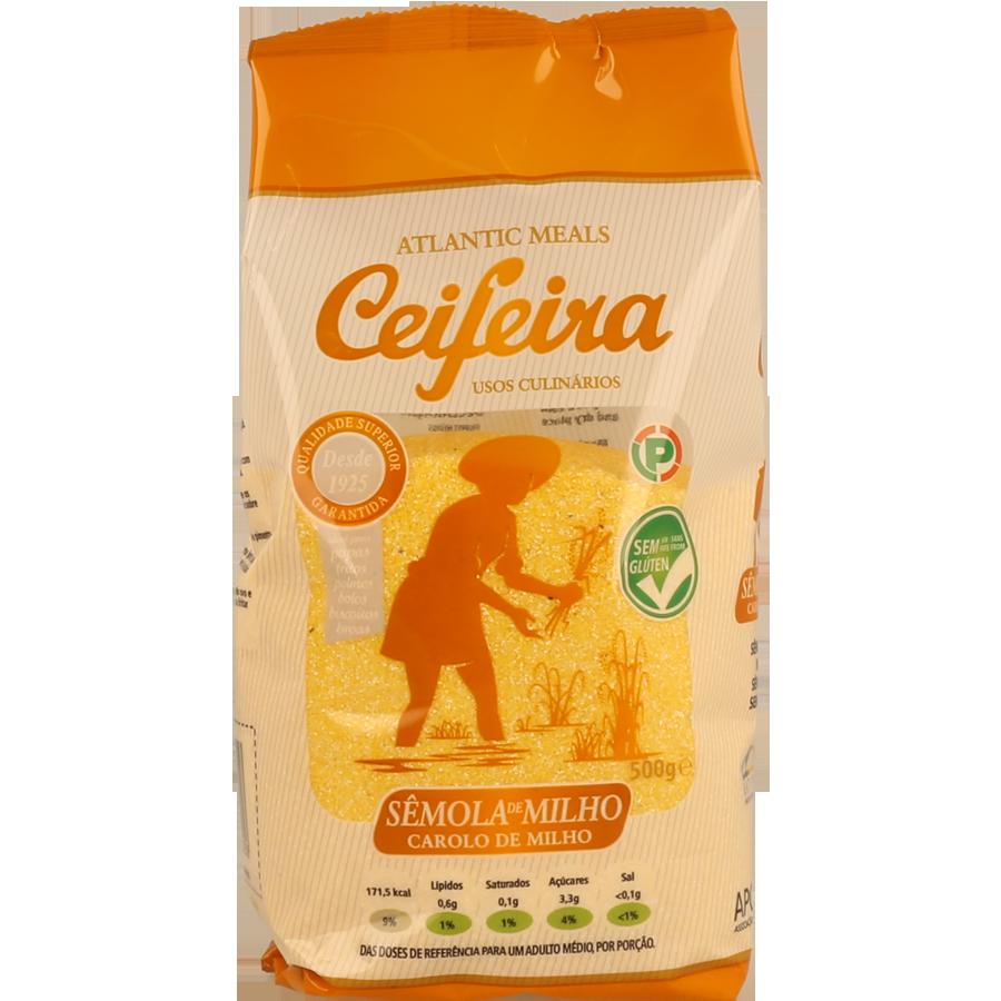 Farinha Ceifeira Sêmola Milho 500 Gr