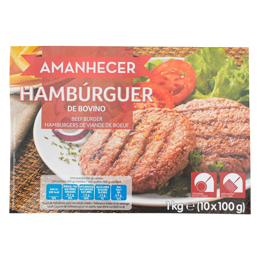 Hamburguers Amanhecer 10X100Gr