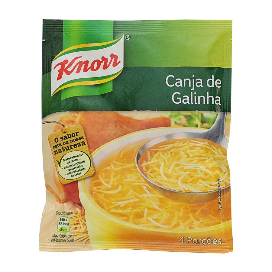 Sopa Knorr Canja Galinha 68Gr