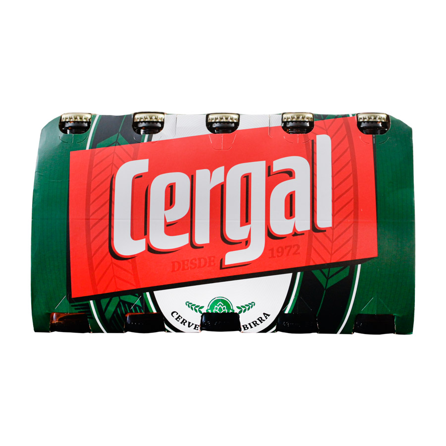 Cerveja C/Alc Cergal Tp 25Cl