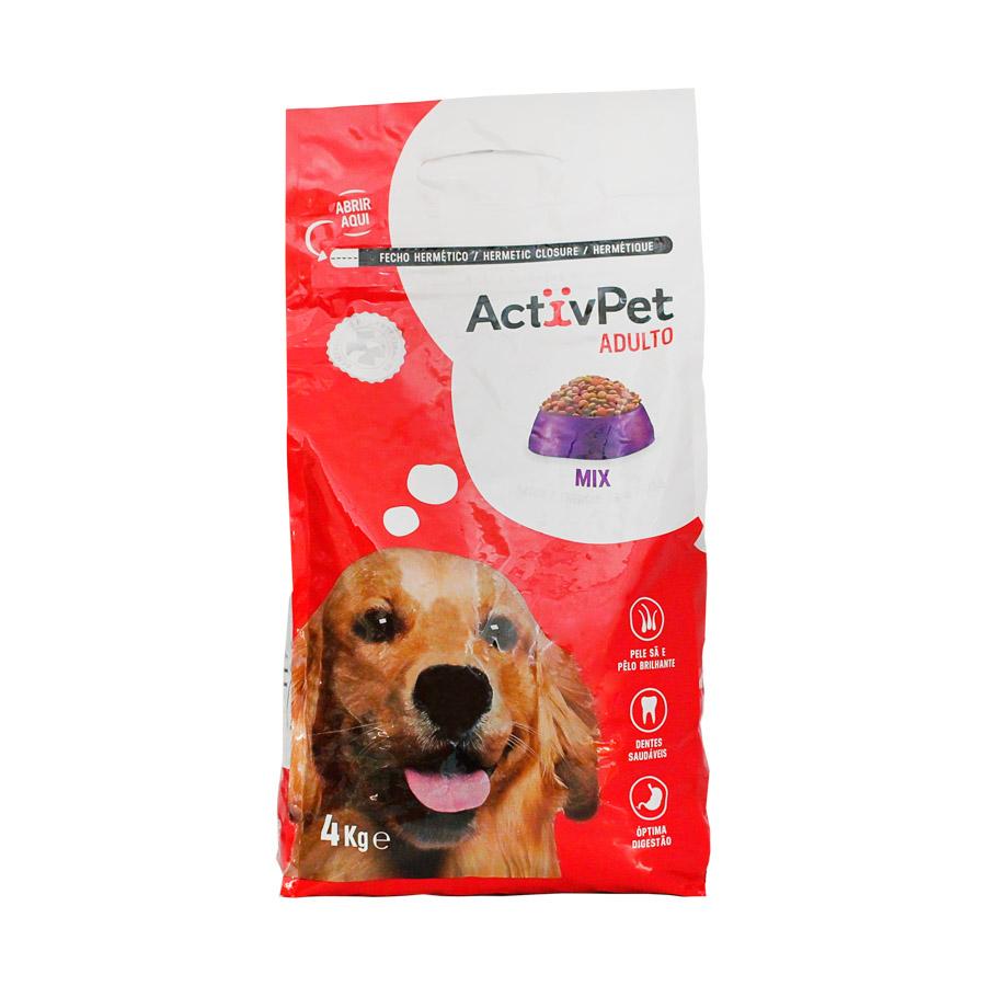Alimento Seco Cão Activpet Mix 4Kg