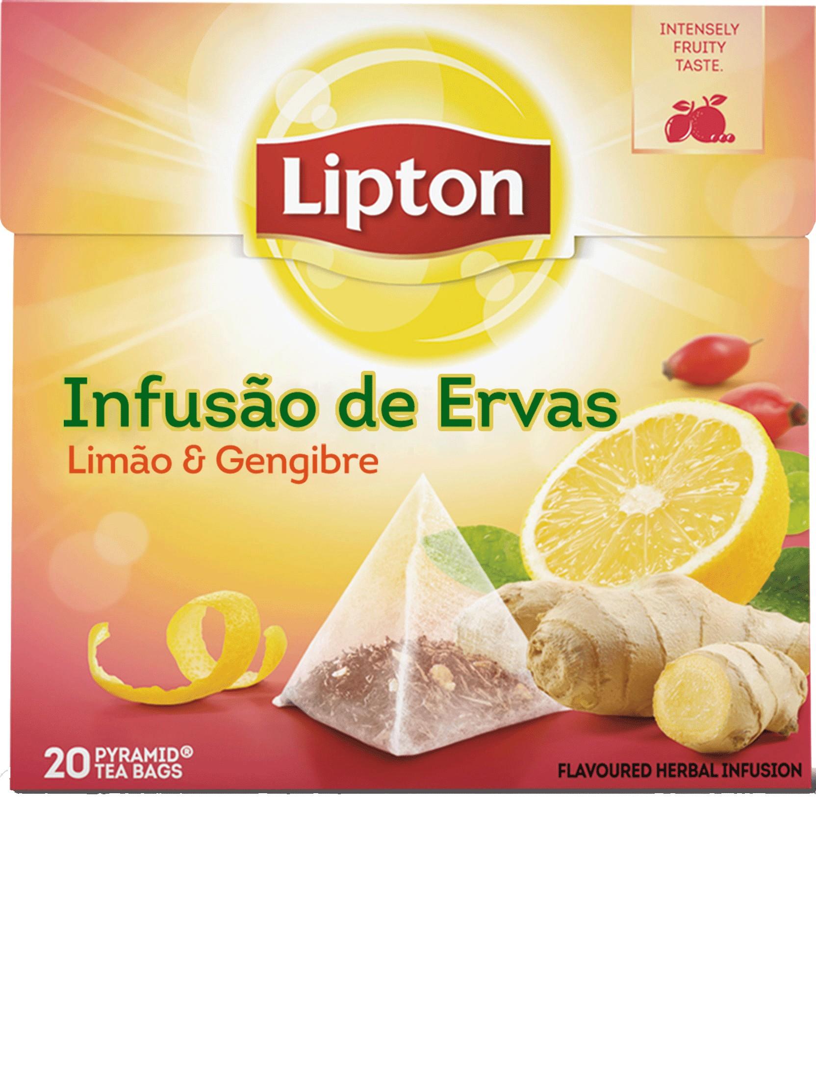 INFUSÃO LIMAO GENGIBRE LIPTON 20UN