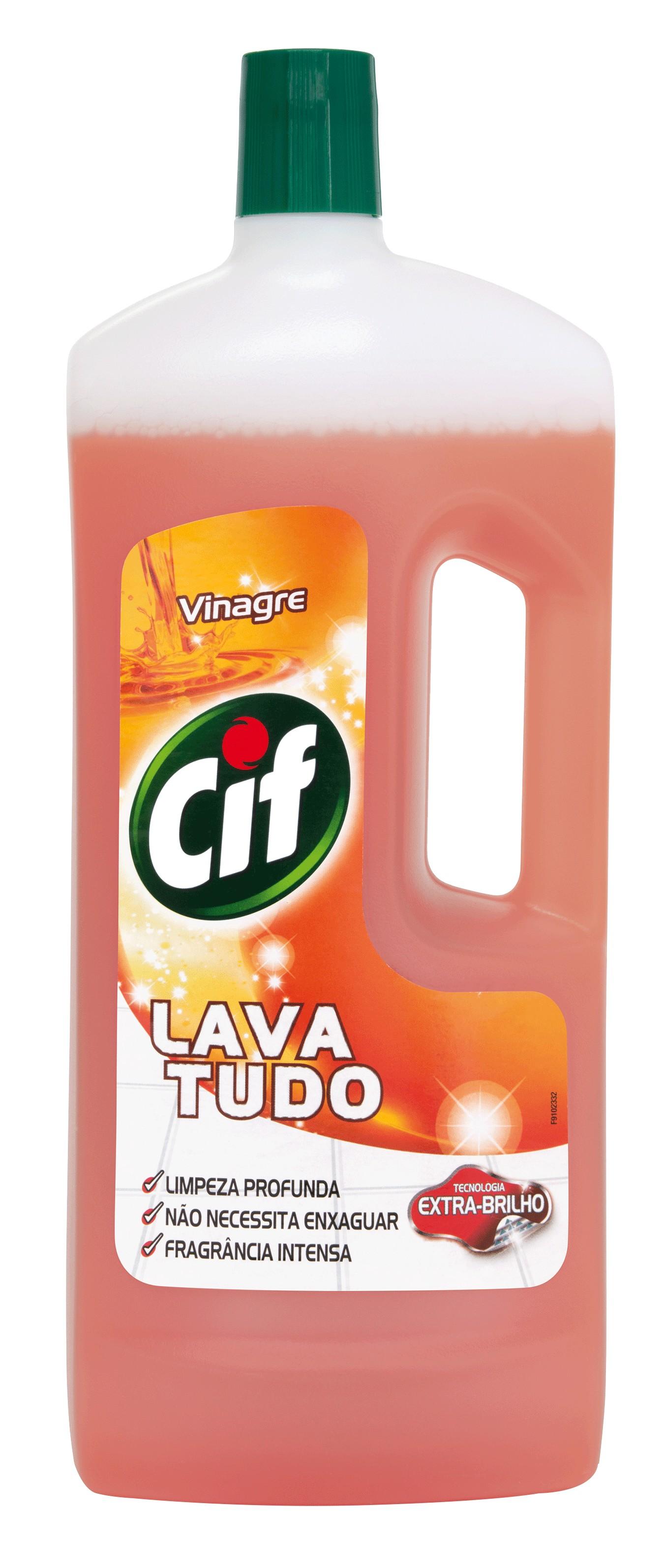 LAVA TUDO CIF VINAGRE 1400ML