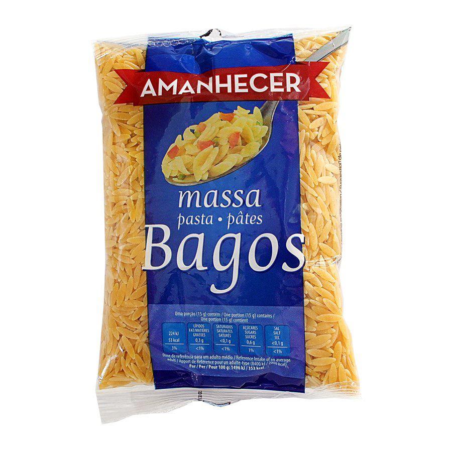 MASSA AMANHECER BAGOS 250GR