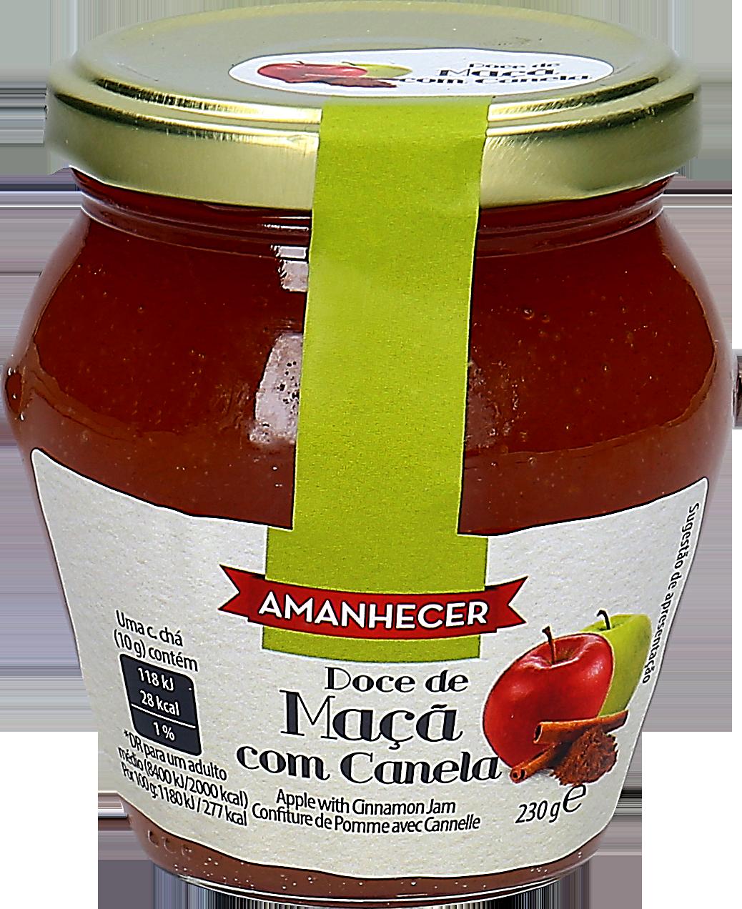 DOCE AMANH MACA C/CANELA 230GR