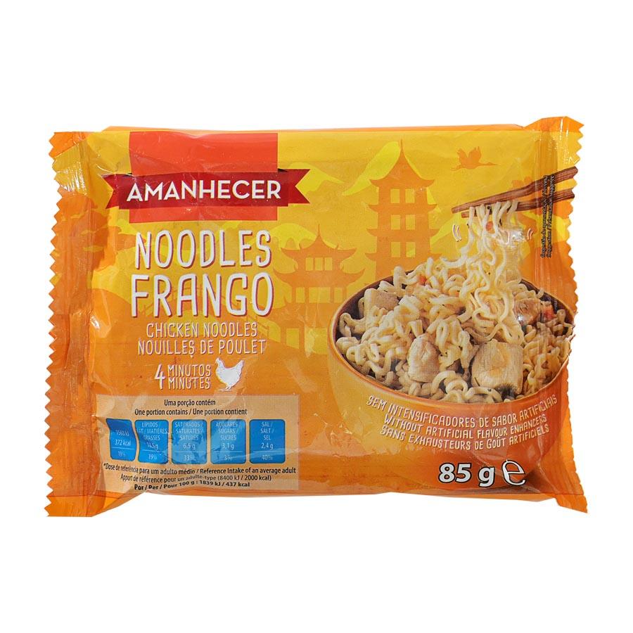 Massa Noodles Amanhecer Frango 85G