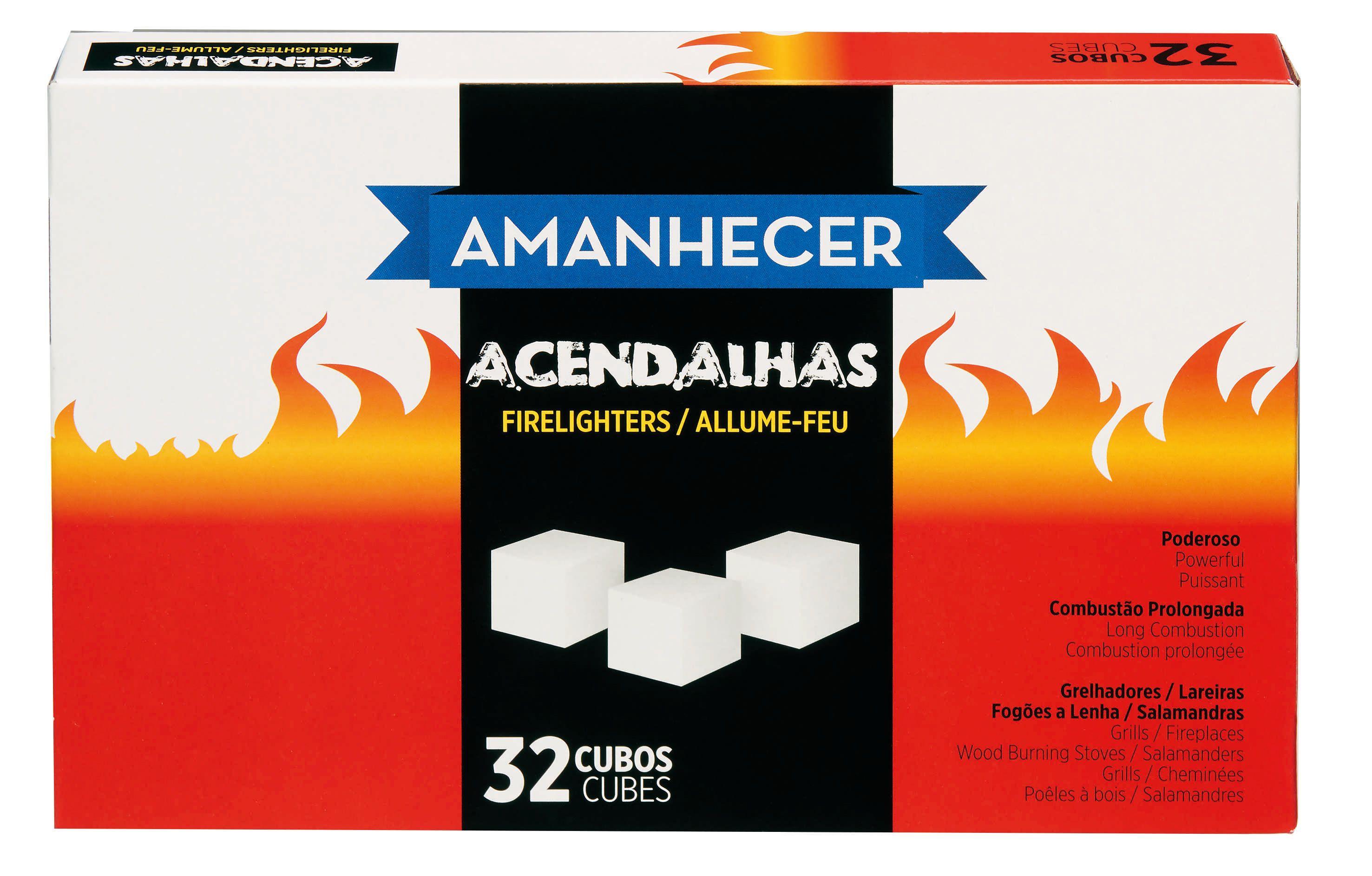 Acendalha Amanhecer Branco 32 Cubos