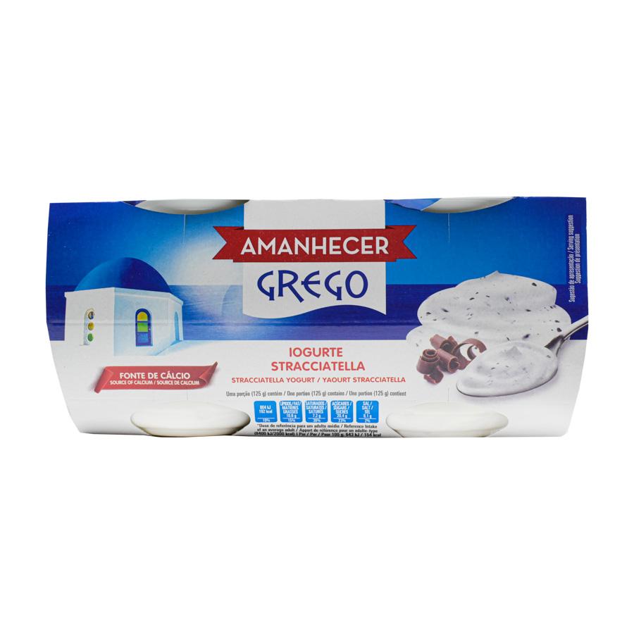 Iog Grego Amanh Stracc 4X125Gr