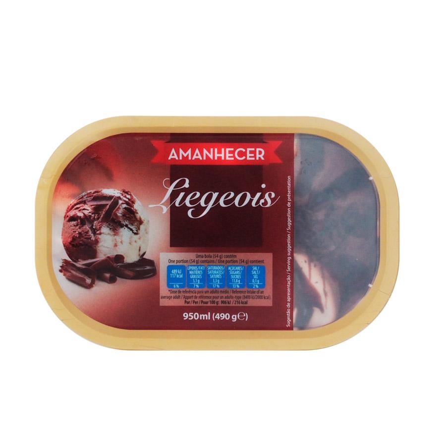 Gelado Liegeois Amanhecer 950Ml