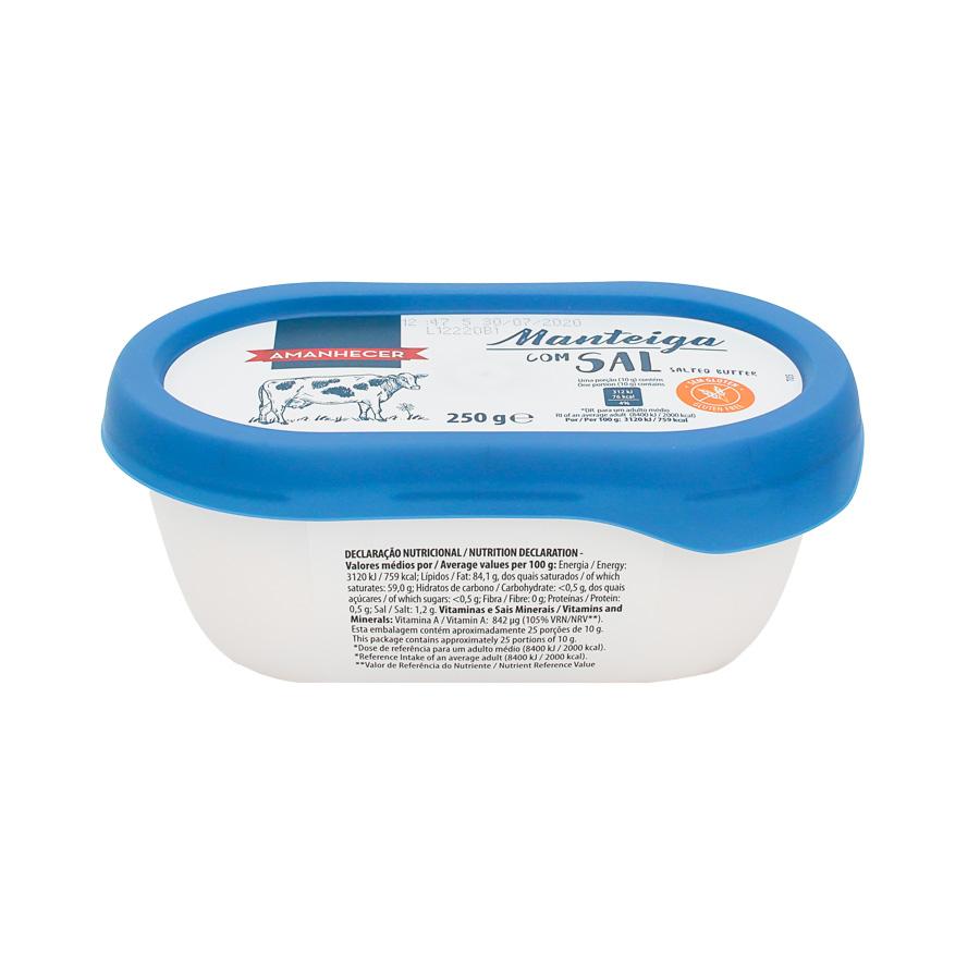 Manteiga Amanhecer Com Sal Couvete 250Gr