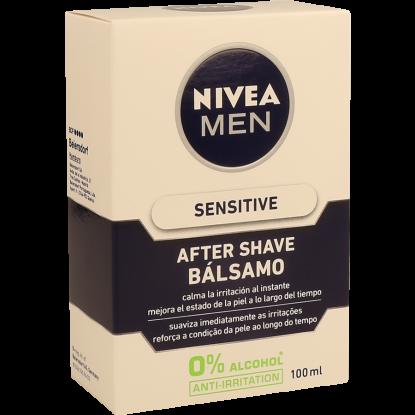 AFTER SHAVE LOÇÃO BÁLSAMO SENSITIVE NIVEA 100 ML