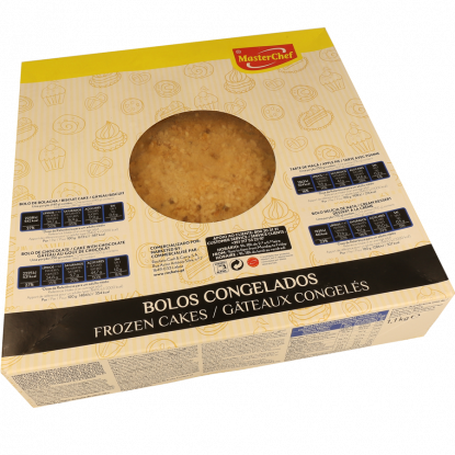 BOLO DE BOLACHA CONGELADO MASTERCHEF 1,3 KG