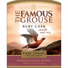 WH FAMOUS GROUSE RUBY CASK 70