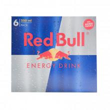 BEBIDA ENERGÉTICA RED BULL 6X25 CL