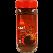 CAFÉ SOLÚVEL DELTA COM CAFEÍNA FRASCO 100 G