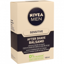 AFTER SHAVE LOÇÃO BÁLSAMO SENSITIVE NIVEA 100 ML