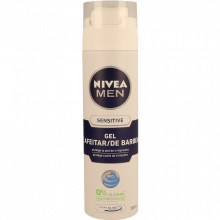GEL BARBEAR SENSITIVE NIVEA 200 ML