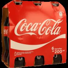 REFRIGERANTE COM GÁS COCA-COLA 6X20 CL