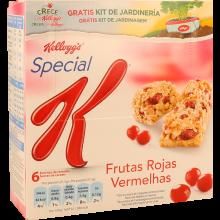 BARRAS CEREAIS FRUTOS VERMELHOS SPECIAL K  KELLOGG'S 6X21,5 GR