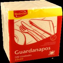 GUARDANAPO FOLHA SIMPLES MASTERCHEF 22X22 100 UN