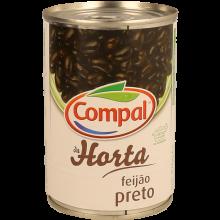 FEIJÃO PRETO COMPAL 410 GR