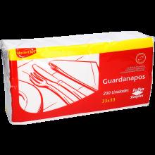 GUARDANAPO FOLHA SIMPLES MASTERCHEF 33X33 200 UN
