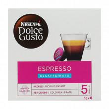 CAFÉ CÁPSULAS DOLCE GUSTO DESCAFEINADO 16 UN