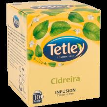 INFUSÃO TETLEY CIDREIRA SAQUETAS 10 UN