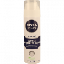 ESPUMA BARBEAR SENSITIVE NIVEA 200 ML