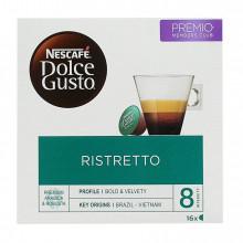 CAFÉ CÁPSULAS DOLCE GUSTO RISTRETTO 16 UN