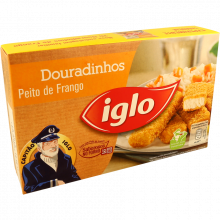 DOURADINHOS DE FRANGO CONGELADOS IGLO 250 GR
