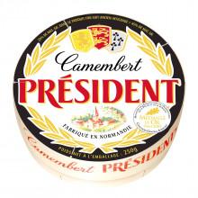 QUEIJO CAMEMBERT PRESIDENT 250 G