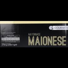 MAIONESE GOURMÊS SAQUETAS 250 X 12 ML