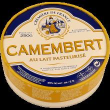 QUEIJO CAMEMBERT CREMERIE DE FRANCE 250G R