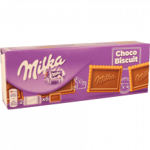 BOLACHA CHOCO BISCUIT MILKA 150 GR