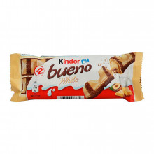 CHOCOLATE BUENO WHITE KINDER 39 GR