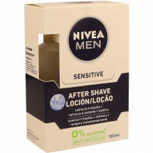 AFTER SHAVE LOÇÃO SENSITIVE NIVEA 100 ML