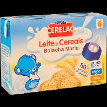 FARINHA LÁCTEA LÍQUIDA BOLACHA MARIA CER ELAC 2X200 ML