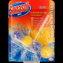 BLOCO SANITÁRIO SÓLIDO SONASOL PODER ACTIVO LIMÃO 1 UN