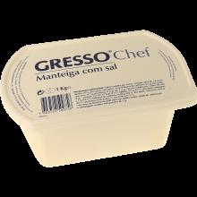 MANTEIGA GRESSO COM SAL 1 KG