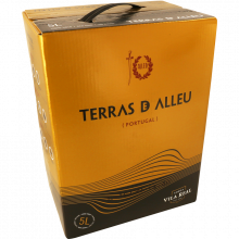 VINHO BAG IN BOX TINTO TERRAS DE ALLEU 5  LT