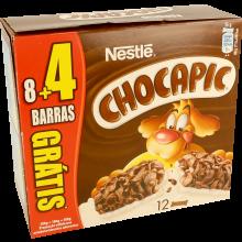 BARRAS DE CEREAIS NESTLÉ CHOCAPIC 8 + 4U N GRATIS