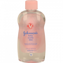 ÓLEO BEBÉ JOHNSON&JOHNSON 300 ML