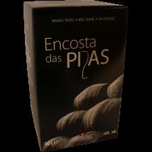 VINHO BAG IN BOX TINTO ENCOSTA DE PIPAS 10 LT