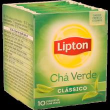 CHÁ VERDE CLÁSSICO LIPTON 10 SAQUETAS